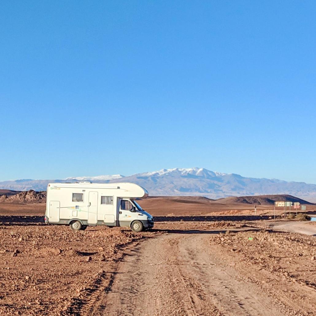 Camper shipping worldwide