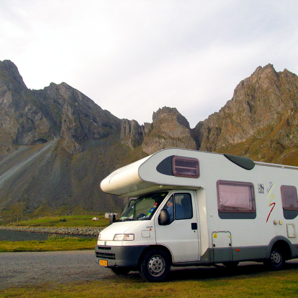 Motorhome shipping worldwide
