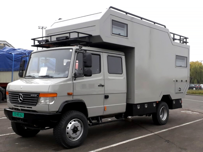 Camper shipping